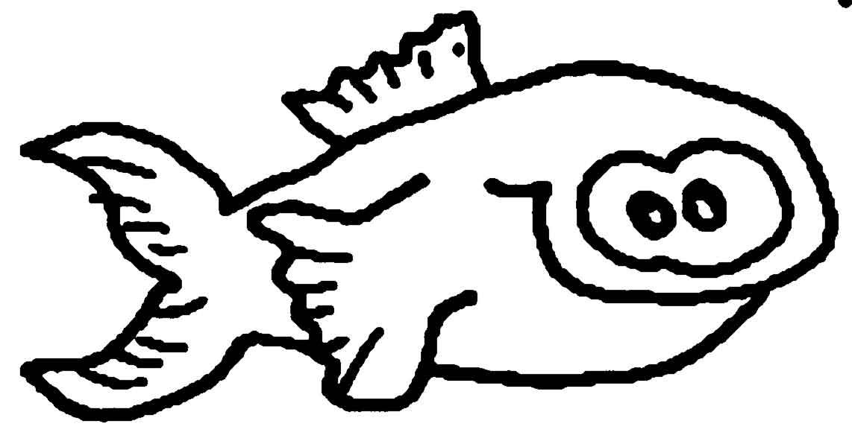 Fische Wuschels Malvorlagen