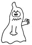 Halloween Geist 1