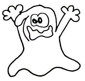 Halloween Geist 7 Wuschels Malvorlagen