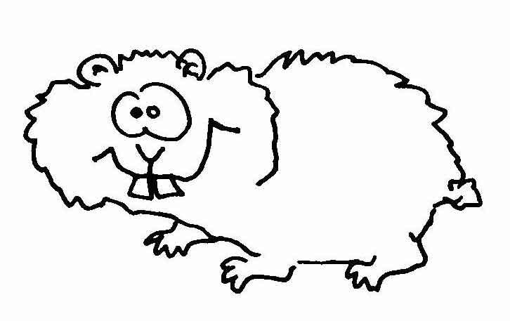 Hamster | Wuschels Malvorlagen