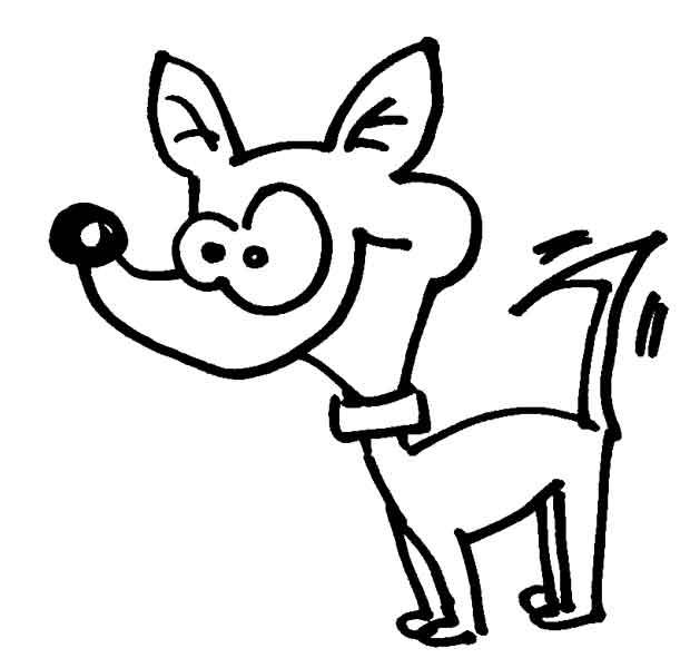 Hunde Wuschels Malvorlagen