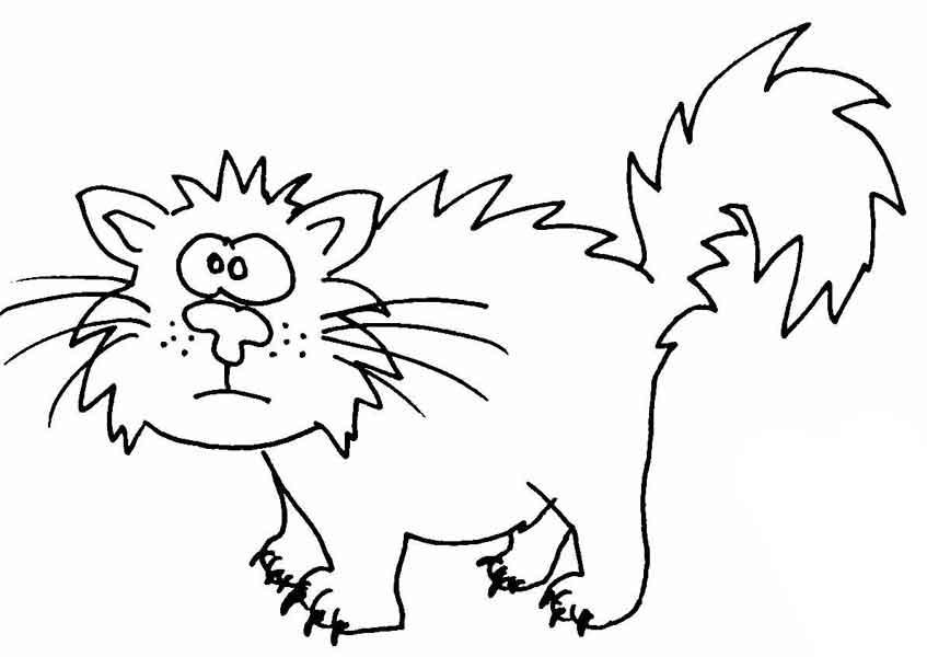 Katze | Wuschels Malvorlagen | Seite 5