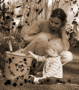 ich und mein Sohn Willi