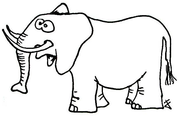 Elefanten Wuschels Malvorlagen