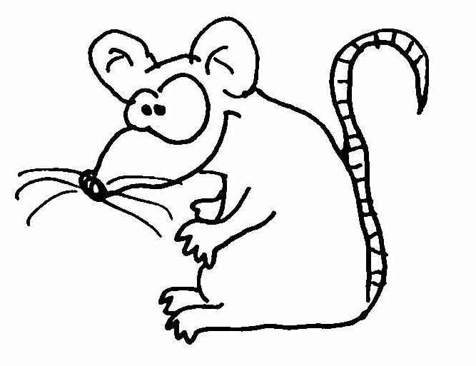 Mäuse | Wuschels Malvorlagen